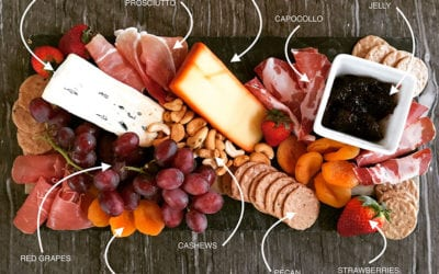 Grazing platters for easy entertaining